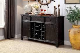 furniture of america sania i dining room server cm3324bk sv