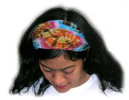 hair bands tie dye hair bands tie dye as wearable