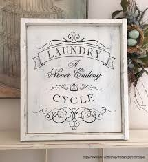 french laundry home decor laundry sign laundry room sign french style sign home