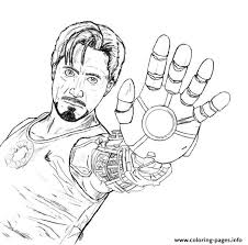 tony stark coloring boysaed6 coloring pages printable