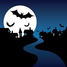 halloween night card vector free vector 4vector