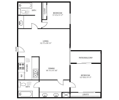 The Lenox Floor Plan The Lennox Apartment Rentals Los Angeles Ca Apartments Com