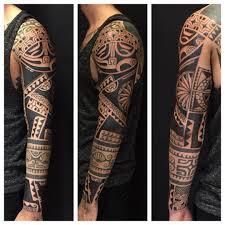 tribal sleeve tattoo tribal tattoos pinterest tribal sleeve