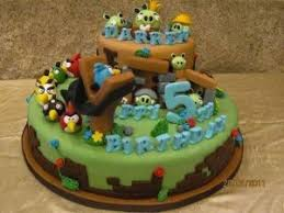 angry bird birthday cakes a birthday cake