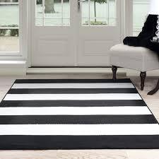 Black And White Stripped Rug Windsor Home Breton Stripe Area Rug Black U0026 White 4 U0027 X 6 U0027 New