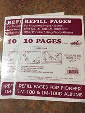 Pioneer Refill Pages General Self Adhesive Photo Storage Photo Albums Ebay