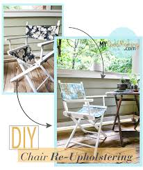 Patio Furniture Slip Covers by Diy How To Make Slip Covers For Directors Chair Best Diy
