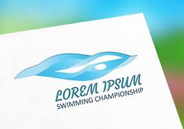 Swimming Logo Design by Swimming Championship Logo U2013 Popothemes