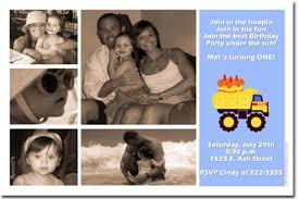 tonka truck birthday invitations construction birthday