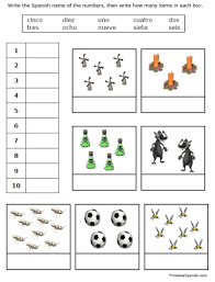fran u0027s freebies spanish numbers worksheets u2013 home education resources