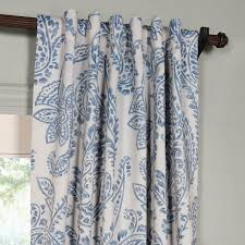 time china blue blackout curtain