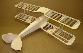 tiger moth v2 wooden kit 894mm hoellein electric powered