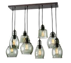 Barn Pendant Light with Creative Of 8 Light Pendant Chandelier Paxton Glass 8 Light
