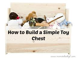 Plans To Build Toy Box by How To Build A Simple Toy Chest Motherhood Defined