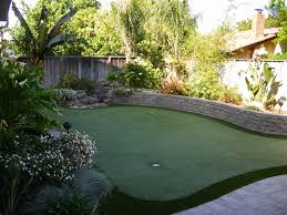 backyard putting green lighting backyard putting green landscape tropical with artificial turf grass