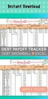 Debt Spreadsheet Yalnızca Pinterest U0027te Bulabileceğiniz 25 U0027ten Fazla En Iyi Debt