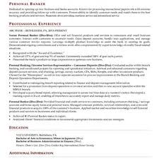 Private Banker Resume Sample by Private Banker Cover Letter