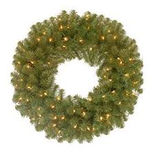 national tree 24 inch wintry pine wreath with cones