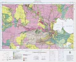 Geological Map Earth Resources Energy And Earth Resources