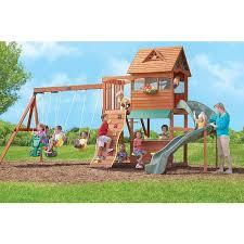Big Backyard Swing Set Triyae Com U003d Backyard Gym Sets Various Design Inspiration For