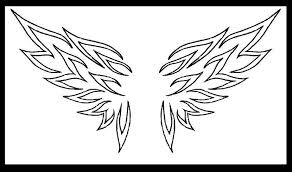 tribal wings by lilmoongodess on deviantart wings