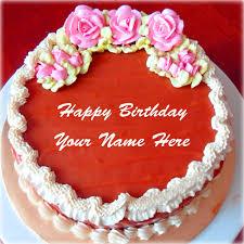 write name on birthday cakes for father