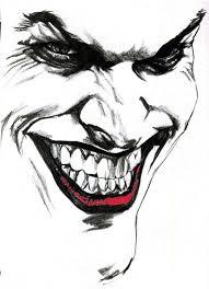 coloring pretty joker face drawings tattoo tattoos coloring