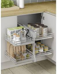 corner kitchen cabinet nz new innostor pull out corner shelving suits 800mm corner