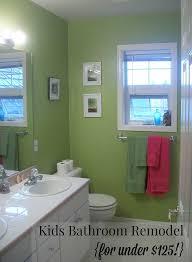 Remodel My Bathroom How I Remodeled My Kids U0027 Bathroom For Less Than 125