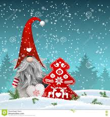 seasonal decorations scandinavian christmas traditional gnome tomte with other