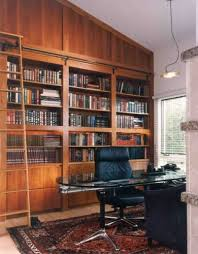 locking file cabinet in home office traditional with sloped