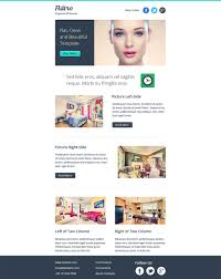 Two Column Responsive Email Template by Best Mobile Newsletter Templates 20 Free Sample Example