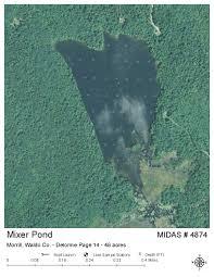 Midas 32 Lakes Of Maine Lake Overview Mixer Pond Knox Morrill Waldo