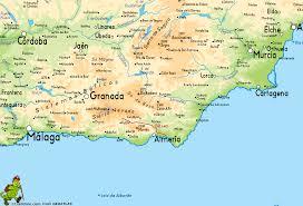 Almeria Spain Map by Puerto De La Ragua Cabo De Gata