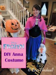 Princess Anna Halloween Costume Diy Frozen U0027s Princess Anna Costume Erin Thedwall