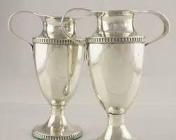 Silver Vase Sterling Silver Vase Etsy