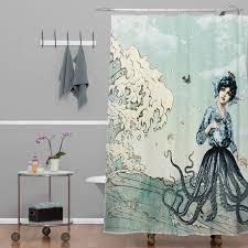 Nautical Shower Curtains Brayden Studio Ketner Nautical Shower Curtain Reviews Wayfair