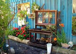 Garden Potting Bench Perfectly Possible Recycled Potting Benches Flea Market Gardening