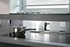 cr ence en miroir pour cuisine credence inox adhesive une cracdence de cuisine adhesive miroir et