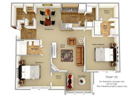 in apartment plans floor plans monticello at town center apartments