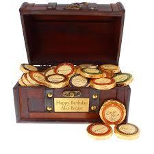 chocolate treasure chest historia