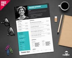 Best Resume Cv by 20 Best Resume Templates Free Psd Psddaddy Com