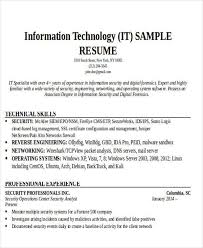 Information Security Analyst Resume Resume It Hitecauto Us