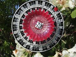 22 best flower plate garden art images on pinterest garden art