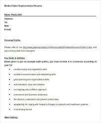 sales resume template 24 free word pdf documents download