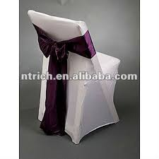 spandex folding chair covers lycra spandex folding chair covers with satin sash for wedding and