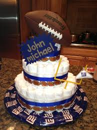 ny giants diaper cake homemade holiday u0026 event ideas