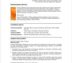 Example Of A Profile In A Resume Examples Of Skills To Put On A Resume Examples Of Resumes Best