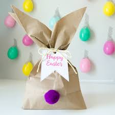 craftaholics anonymous easter bunny gift bags with free