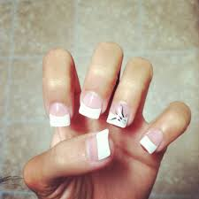 best 20 white tip acrylic nails ideas on pinterest french tip
